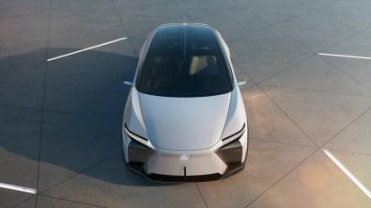 Lexus LF-Z Electrified exterior