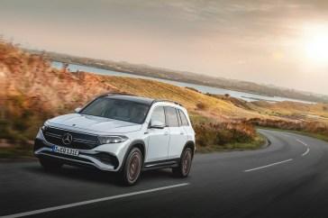 Mercedes-Benz EQB exterior