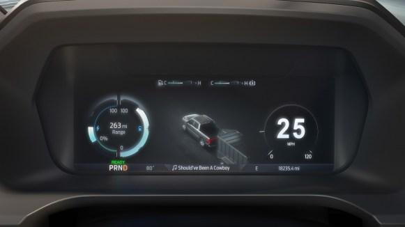 Ford F-150 Lightning 2022 interior