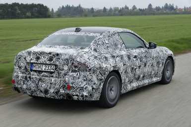 BMW Serie 2 2022 teaser