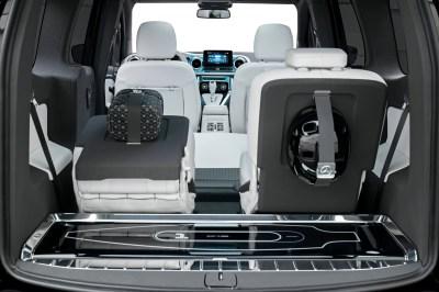 Mercedes Concept EQT interior