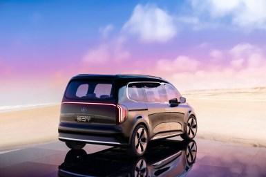 Mercedes Concept EQT exterior