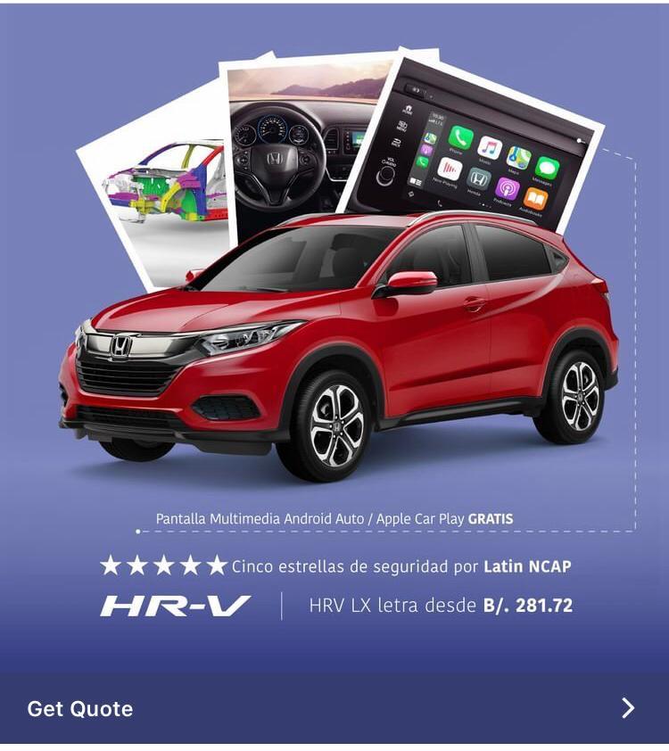Bahía Motors ya no puede publicitar el HR-V como un 5 estrellas de Latin NCAP