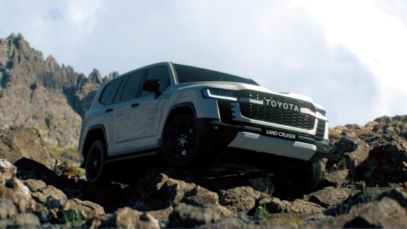 Toyota Land Cruiser 2022 exterior