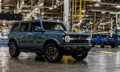 El nuevo Ford Bronco inicio su producción en Estados Unidos