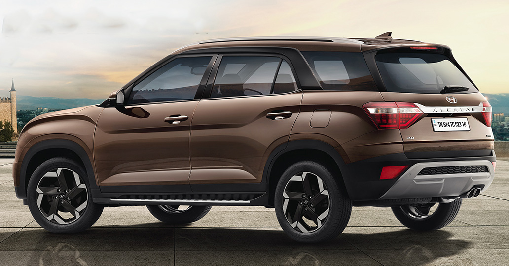 Hyundai Alcazar 2022 exterior
