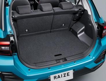 Toyota Raize 2021 interior