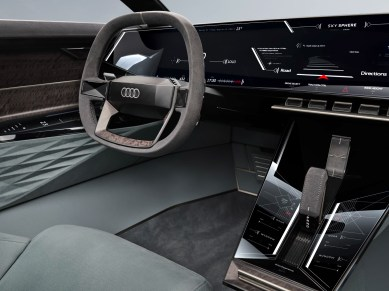 Audi Skysphere concept interior
