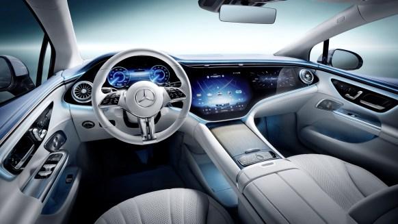 Mercedes-Benz EQE: interior