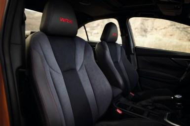 Subaru WRX 2022 interior