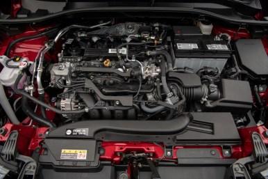Toyota Corolla Cross estadounidense: motor