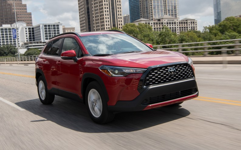 Toyota Corolla Cross estadounidense: exterior