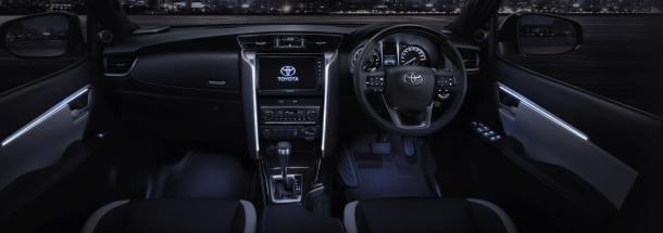 Toyota Fortuner Legender 2022: Interior