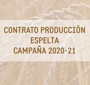 contrato de producción de espelta