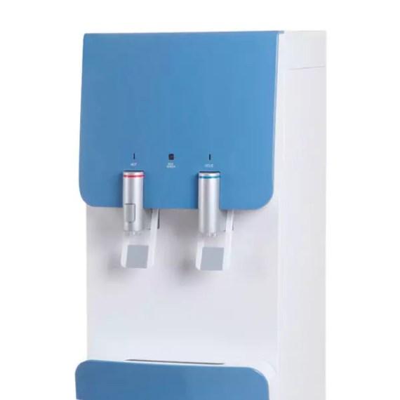 Plano detalle de los palancas surtidoras de agua del dispensador Columbia FC-1050