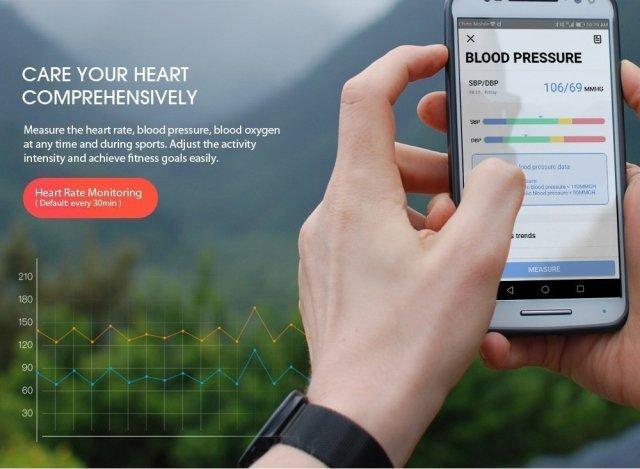 Black Friday 2019 Deals: Alfawise H19 RFID Sports Smartwatch Fitness Tracker
