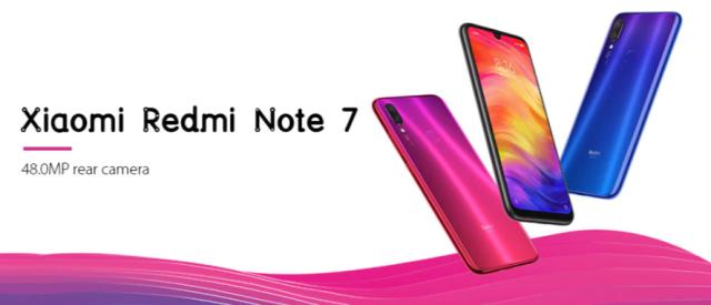 Black Friday 2019 Deals:Xiaomi Redmi Note 7 Smartphone Images