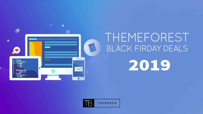 Theme forest black Friday cyber Monday deals 2019