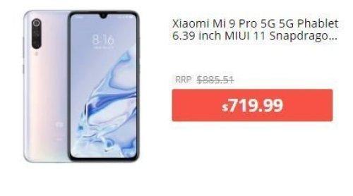iaomi Mi 9 Pro 5G 5G Phablet