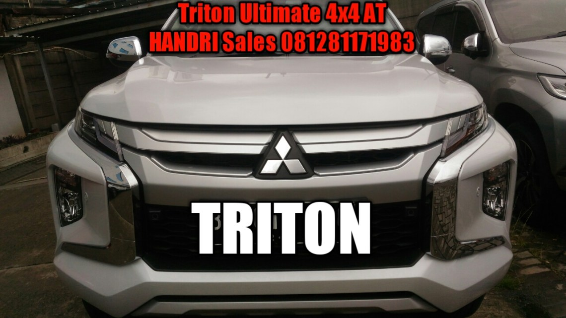 Ready Stock Triton Ultimate di Dealer Mitsubishi Jakarta Selatan