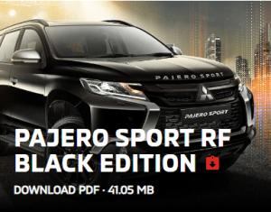 PAJERO RF BLACK