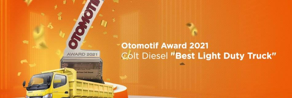Best Light Duty Truck Otomotif Award 2021