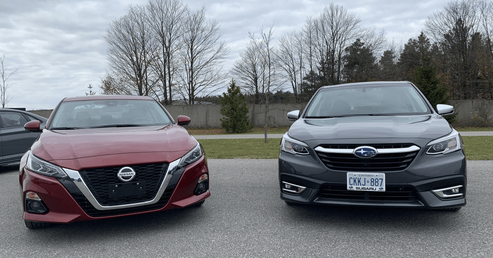 Nissan Altima or Subaru Legacy: Choose Your Midsize Sedan