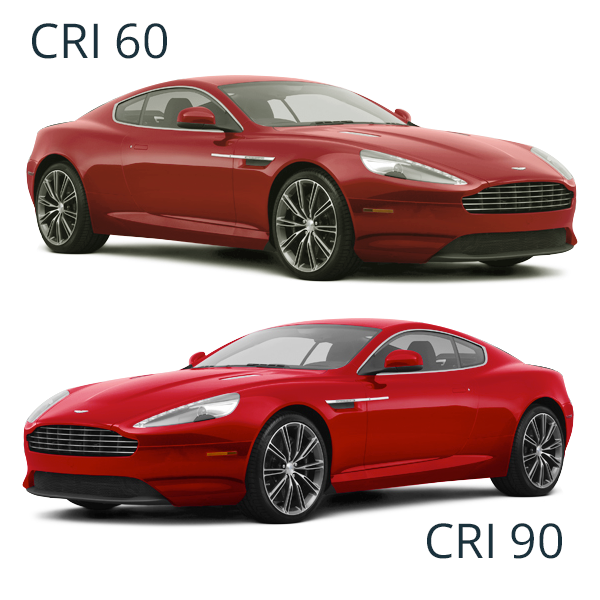 How LED CRI Makes Cars Look Brighter