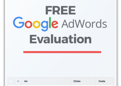 Free Google AdWords Evaluation For Auto Dealers