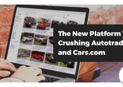 Webinar: New Platform That's Crushing Autotrader and Cars.com