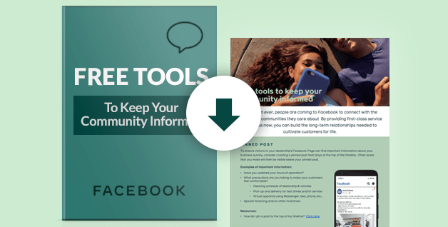 [Facebook Guide] Free Tools To Keep Your Dealership's Community Informed