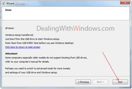 boot windows install windows