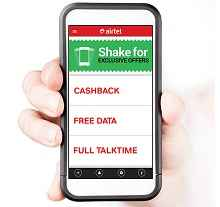 My Airtel App- Get Rs 25 free talktime on min recharge of Rs 50