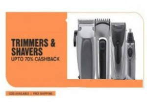 Paytm Shavers & trimmers offer