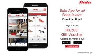bata app get Rs 500 off on Rs 501 voucher