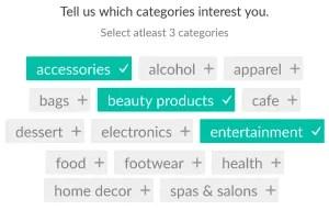 niffler app 3 categories