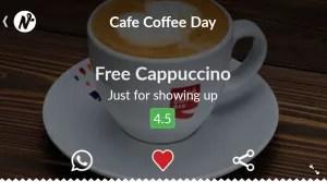 niffler app free coffee