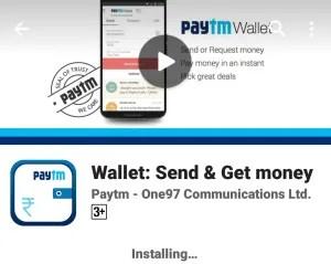paytm wallet transfer