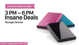 Paytm Insane Deals on Storage devices – Get great discounts + extra cashback upto Rs 2000
