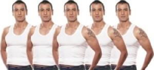 Paytm Deal - Buy Rupa Vest Pack Of 5 (90 cm) For Men at just Rs 181 only