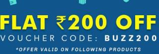 Printvenue Buzz Sale- Get Flat Rs.200 OFF on all Orders (No Minimum Purchase)