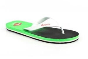 Paytm- Buy Lee Cooper Green Slippers at just Rs.136 only