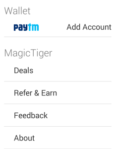 magictiger app refer and earn Rs 50 paytm cash