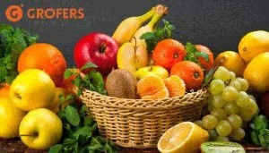 Grofers- Get Flat Rs.50 off on purchase of Rs.300 or More on Grocery + Extra 20% Cashback via Mobikwik