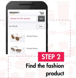amazon app treasure hunt 10 AM 10th march find the fashion product