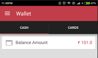 redbus app Rs 101 free wallet balance