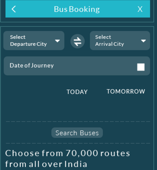snapdeal bus booking offer flat Rs 75 cashback