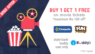 Fastticket Get flat Rs 100 off on movie tickets