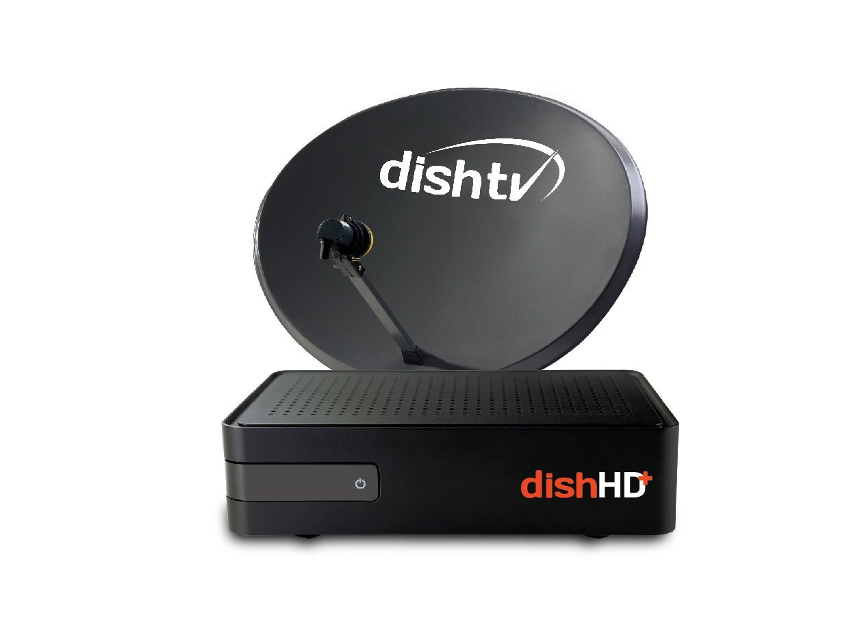 Amazon Dish Tv TruHD+ Recorder Connection With One Month Free Subscription+ 1 Year Onsite Warranty