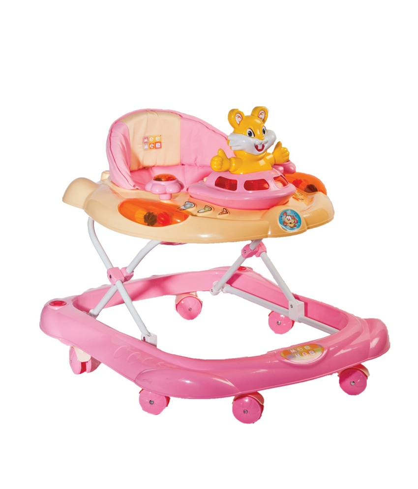 Mee Mee Pink Kids Walkers Rs 1829 only snapdeal